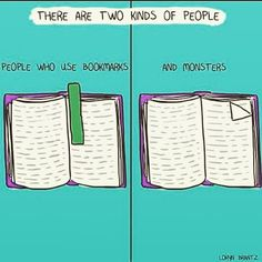 Haha this is perfect! I am a hoarder of bookmarks  I could never be a monster and harm the poor book pages! #bookworm #booklover #bookstagrammer #bookstagram #books #pages #bookmark #quotes #bookish #bookaddict #lovereading #lovebooks #booknerd #booknerdigans #book #read #reading #igreads #bookdragon #pagefolder #monster by littlelettering