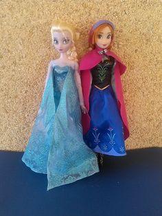 Dolls, Clothing & Accessories Hard-Working Disney Princess 50 Cm Anna Frozen Plush Cuddly Toy Girls New No Tags Elsa Film C