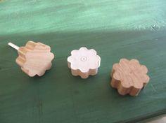 Rändelschraubenköpfe aus Holz - kleiner Werkstatthelfer...
