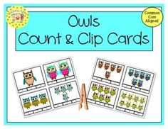Practice counting 1-20 with Owls.