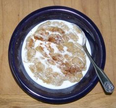 Always up for trying something new - Amaranth used as a porridge. Perfect weather for it too!