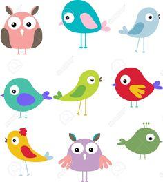 cartoon vogels - Google zoeken