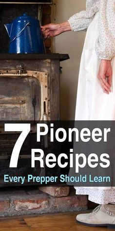7 Pioneer Recipes Every Prepper Should Learn You may want to familiarize yourself with these recipes so you can cook meals when there isn't electricity and you only have your food stockpile. Emergency Preparedness Kit, Emergency Preparation, Emergency Food, Survival Food, Camping Survival, Outdoor Survival, Survival Prepping, Survival Skills, Wilderness Survival