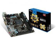 MSI lanza placa madre Mini-ITX AM1I - http://www.tecnogaming.com/2014/04/msi-lanza-placa-madre-mini-itx-am1i/