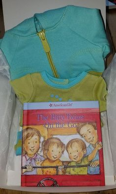 American Girl Bitty Twin or Baby Roll N Go Lime Stripes NIB New in Box RETIRED #AmericanGirl #DollClothingAccessories