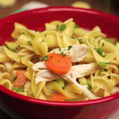 You'll never buy canned chicken noodle soup again after making this soothing, healthier soup from scratch.