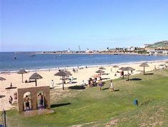 Santos Beach - Mossel-Bay - South Africa. The town with the second most moderate climate in the world after Hawaii.