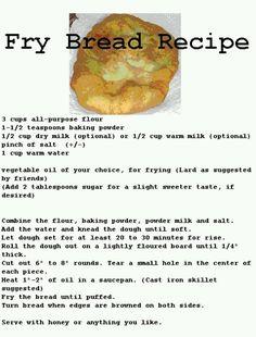 Fry bread Mmmm.....
