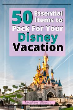 Things Everyone Should Bring For A Day At Disney – The Awesome Disney World Packing List is just a list of suggestions of what to pack for a Walt Disney World vacation. Packing List For Disney, Disney World Packing, Disney Cruise Tips, Disney Vacation Planning, Walt Disney World Vacations, Disney Travel, Disney Parks, Travel With Kids, Family Travel