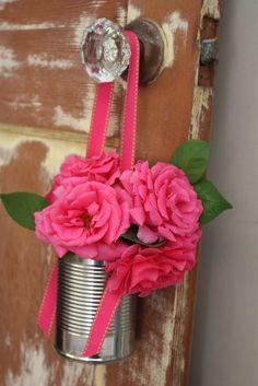 Uma maneira diferente de florir a casa.   imagem:   Virtual Goodness