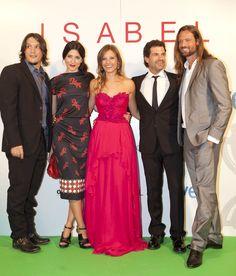 Reparto de Isabel en el FesTVal de Vitoria 2012