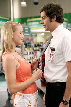 Sarah Walker (Yvonne Strahovski) and Chuck Bartowski (Zachary Levi) - Ep. 202