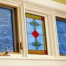 Creating Faux Stained Glass with Acrylic Paint and Glue! :: Hometalk