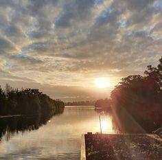 Natuur bij het water in Nederland