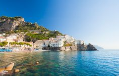 [amalfi1_cs] View of the Amalfi Coast in Campania, Italy. Michal Krakowiak / The Image Bank / Getty Images.