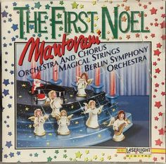 Christmas Cds, Christmas Albums, Vintage Christmas, Present Wrapping, Silent Night, Orchestra, Booklet, Cover Art, The One