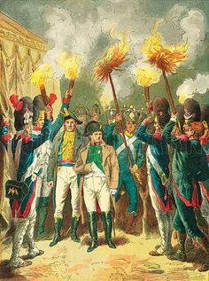À la veille de la bataille d'Austerlitz