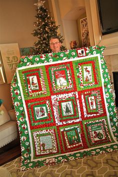 WOW, a Grinch quilt..awesome!
