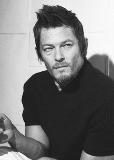 Norman Reedus. YES!! Favorite character!!! He's on my team for the zombie apocalypse! ;)