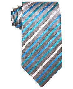 Geoffrey Beene Tie, Neon Wide Stripe - Mens Ties - Macy's