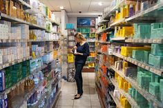 Back From Paris, With Beauty Trophies in Tow - NYTimes.com Citypharma Du Four Bonaparte in St. Germain des Pres