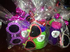 Lilo and Stitch party favors- Cobra Bubbles and Sunglasses.