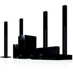 LG 5.1 3D Blu-Ray Home Theatre System BH6520TW