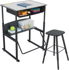 I am SO excited about this standing desk for K-12 schools. This is what kids (and adults) need to stay healthy and active!