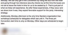 3/3   Bernie delegates  more to come in a minute