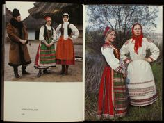Just thought it would be fun to share some folk costumes of Russia and Poland. I urge anyone to also post other country's folk costumes here as well. Folk Costume, Costumes, Polish Clothing, Anthropology, Poland, Russia, Product Launch, Culture, History