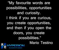 Opportunities create possibilities. Hyperion Business Funding 1-347-815-FUND