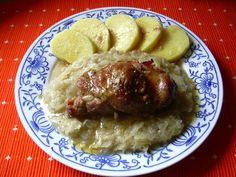 Moravský závitek :: Domací kuchařka - vyzkoušené recepty Czech Recipes, Snack Recipes, Snacks, Ham, Pork, Rice, Beef, Chicken, Dinner