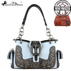 Montana West Buckle Collection Handbag (MW298G-8085)