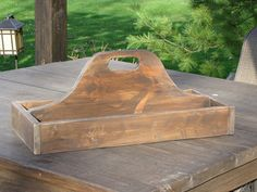 Large Reclaimed Wood Tote