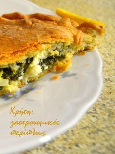 Dough for pies ♥Matina Greek Recipes, Desert Recipes, Greek Pastries, Greek Sweets, Greek Cooking, Appetisers, Different Recipes, Finger Foods, Easy Meals