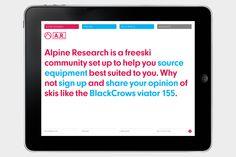 Alpine Research - StudioMakgill
