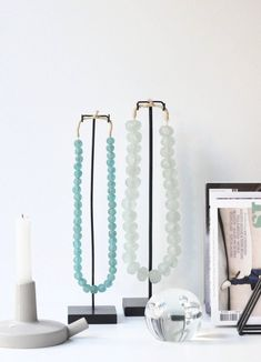 Sea Foam, Glass Beads, Curtains, How To Make, Home Decor, House, Insulated Curtains, Homemade Home Decor, Blinds