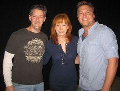 Reba with Tony and Kris