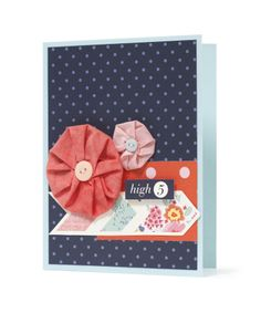 Card made from our Dear Lizzy Lucky Charm Collection