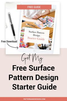 Would you like to create another revenue stream by turning your art into surface pattern designs?In this Free Guide you'll learn an easy 5 step process so you can start creating successful surface pattern designs as well as how to create 12 of the most common surface pattern repeats #repeatpattern #patterndesign #repeat #designtips, #patterndesign #printdesign #designresources Textile Design, Fabric Design, Print Design, Kids Patterns, Floral Patterns, Pattern Designs, Surface Pattern Design, Inspiration For Kids, Design Inspiration