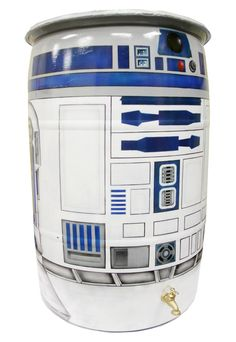 R2-D2 Rain Barrel Collects Water Without Swimming through the Dagobah