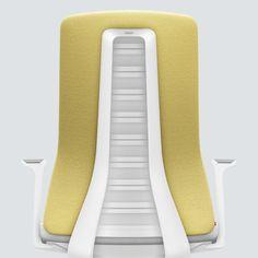 PURE INTERIOR Edition 11 #Gelb. Mehr Design für dein #HomeOffice. Mit einer vielfältigen und hochwertigen Stoffauswahl und ihrem ergonomischen Design vereint die PURE INTERIOR Edition bequemes und ergonomisches Sitzen. Das Design und die Farbgebung des PURE machen ihn zu einem optischen Leichtgewicht. Farblich abgestimmt bringt er sich in das Home Office ein und kann sich gleichzeitig zurücknehmen. #schreibtischstuhl #design #interiordesign #Stoff #ergonomie #interstuhl Home Office, Interiordesign, Floor Chair, Designer, Flooring, Pure Products, Furniture, Home Decor, Yellow