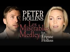 Les Miserables Medley - Peter Hollens feat. Evynne Hollens. Insane range... This is the same guy who did the awesome Skyrim video with all the bass.
