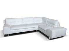 Leather Sectional Sofa Kiss by Seduta d\'Arte Italy - $4,750.00 ...
