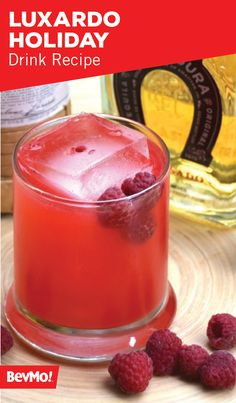 You'll want to make a large batch of this Luxardo Holiday Drink recipe before your party because you can be sure that guests won't be able to get enough of the raspberry and lemon flavor combination. Garnished with fresh fruit, this cocktail has a stunning presentation worthy of your special occasion.