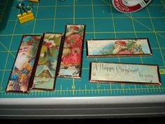 My stuff, my life: Microscope Slide Ornaments - tutorial -- use photographs