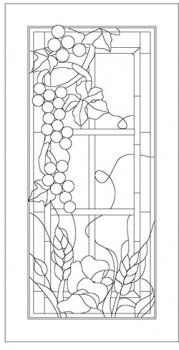 1000 Images About Stained Glass Grapes Grapevines And