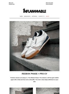 Reebok Phase 1 Pro CV arrived now | Stüssy Spring - Summer '18| New Carrots Styles | A few new Kappa Authentic Products