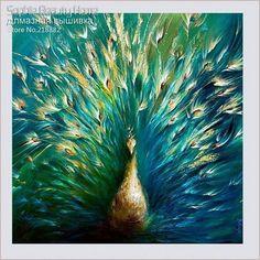 5D FULL Resin DIY Square Diamond painting Needlework Cross Stitch Diamond embroidery Home Decora Diamond mosaic peacocks