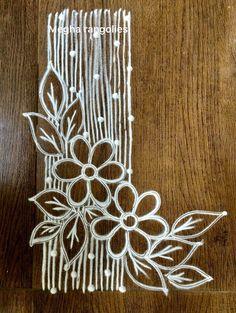 Easy Rangoli Designs Diwali, Simple Rangoli Designs Images, Rangoli Designs Latest, Rangoli Designs Flower, Free Hand Rangoli Design, Rangoli Border Designs, Small Rangoli Design, Rangoli Patterns, Colorful Rangoli Designs